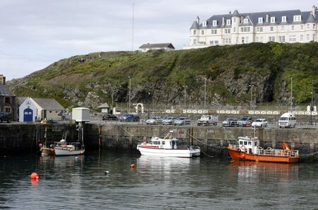 Part of the harbour at Port Patrick, Galloway, Scotland Stock Photo - 11260586