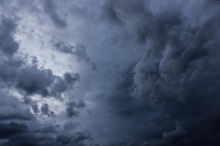 stomy: dark storm cloud Stock Photo