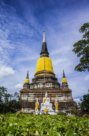 yai: Wat Yai Chaimongkol, Ayutthaya, Thailandia