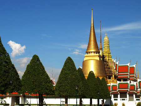 Wat pra kaew, Grand palace ,Bangkok,Thailand  photo
