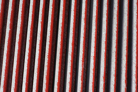 Abtract Red tiles roof background photo