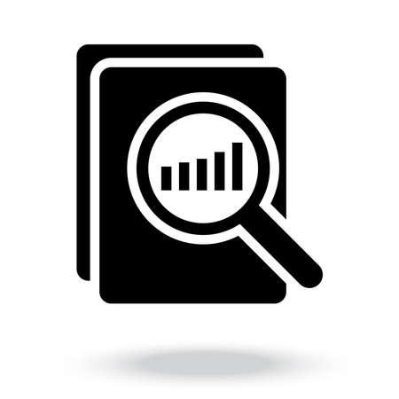 audit icon vector illustration