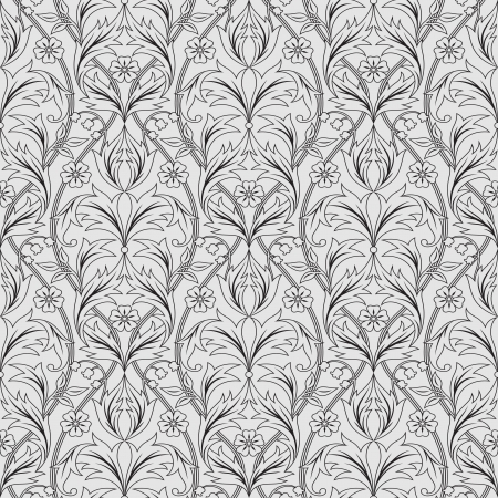 seamless pattern in baroque style Stock Vector - 16980934