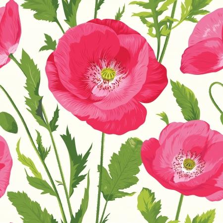 wild flowers: Bloemen naadloos patroon