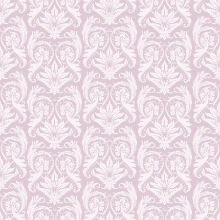 Vector illustration of seamless pattern in baroque style