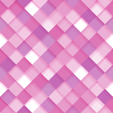 Abstract geometric background. Seamless pattern in pink colors for web design, desktop wallpaper or website.