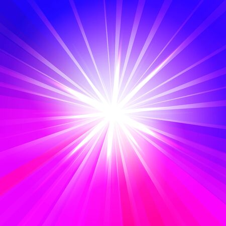 floodlit: Abstract star in blue and lilac colors. Vector background for you design, web design, desktop wallpaper or website.