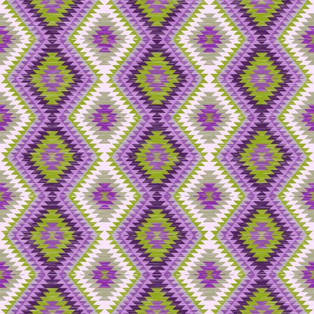 Abstract background. Seamless pattern in folk style. Vector illustration.