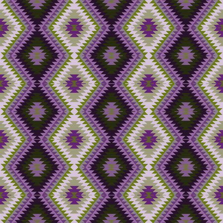 gobelin tapestry: Abstract background. Seamless pattern in ethnic style. Vector illustration.