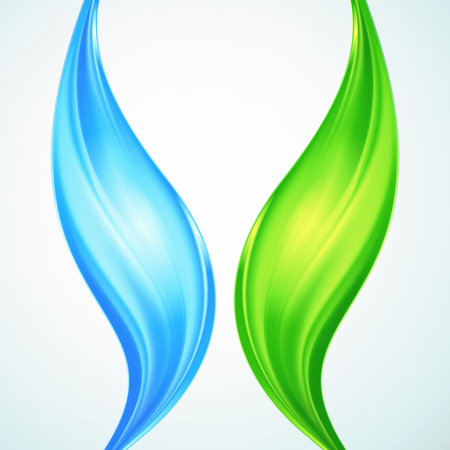 desktop wallpaper: Resumen de fondo con olas azules y verdes. Ilustraci�n vectorial para usted dise�o, dise�o web, fondo de escritorio o p�gina web.