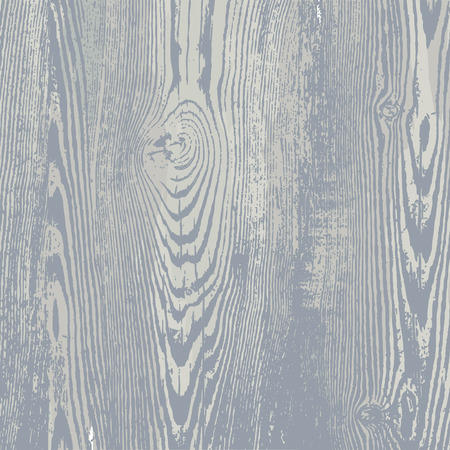 Wood texture template in gray colors. Vector illustration. Natural wooden background. Stock Illustratie