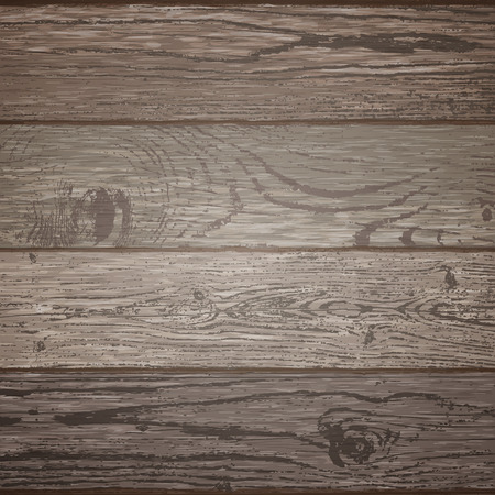 Wood texture template. Vector illustration. Natural wooden background.