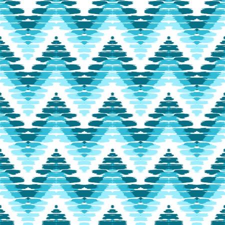 indigo: Chevron herringbone seamless pattern. Vector scribble stripes pattern for home decor textile, herringbone wallpaper, wrapping paper. Colorful chevron seamless background.