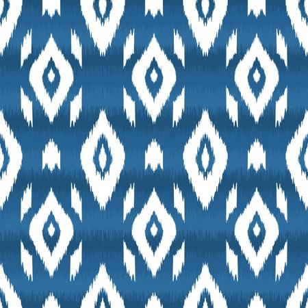 Moderne etnische naadloze patroon in bohemien, hipster mode-stijl. Aztec, navajo, mexicaans naadloos behang. Ikat patroon voor textiel design, interieur, inpakpapier. Vector achtergrond.
