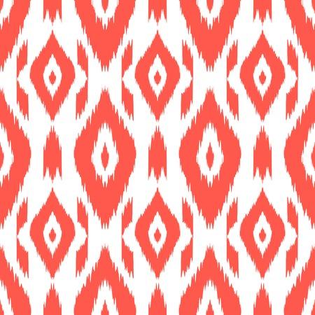 ボヘミアン、流行に敏感なファッションのスタイルでモダンなエスニック シームレス パターン。アステカ族、ナバホ族、メキシコのシームレスな壁