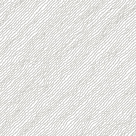 Vector illustration of black and white colored seamless pattern. Abstract background. Irregular diagonal texture. Simple design. Textured slanting lines ornament. Scribble effect. Stock Photo
