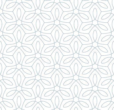 Abstracte naadloze patroon. Vectorachtergrond. Vector Illustratie