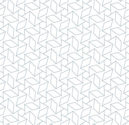 Seamless linear pattern in blue color.