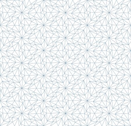 Seamless linear pattern in blue color.. Ilustrace