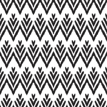 White and black tribal background. Vettoriali