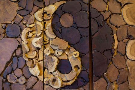 daoism: yin-yang, wood