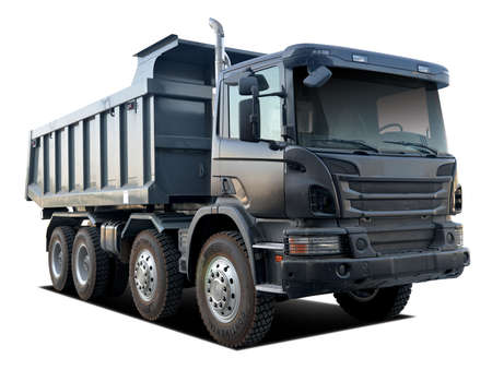 heavy dump truck for carrying