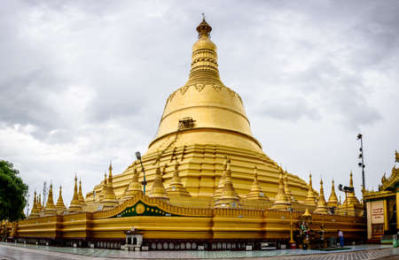 Shwe Maw Daw Pagoda. It is located in Bago city, Myanmar, 4-june-2017