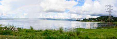 Moe Byel Dam, Shan State, Myanmar, Oct-2017 Reklamní fotografie