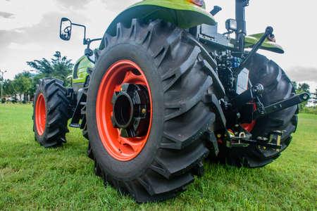 big wheel of trator, Nov-2017 Stock Photo