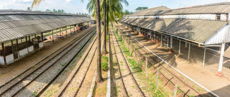 Bago railway station, Bago, Myanmar, Dec-2017 Editorial