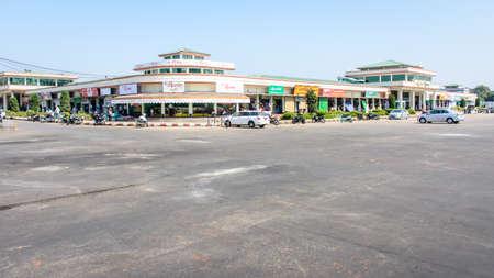 Myoma market, Nay Pyi Taw, Myanmar. Feb-2018. Take at daytime