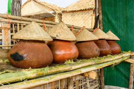 photo of drinking water pots, Myanmar culture Imagens