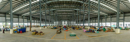 internal view of Danyingone vegetable market, Jan-2018