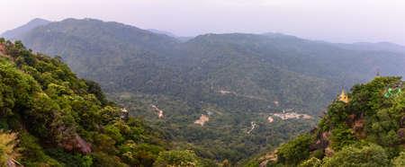 beautiful scenery of Kyaik Htee Yoe mountain, Mon State, Myanmar