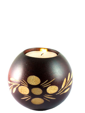 Coconut candle Stock Photo - 13322608