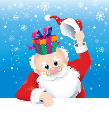 깜짝 선물 산타 클로스