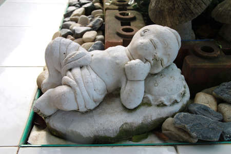 Thai Children  Sculpture photo