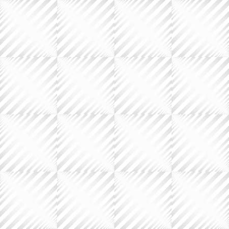 Square Spin Texture Seamless Pattern. Vector Abstract Elegant white and grey Background. Art style can be used in cover design, book design, poster, cd cover, flyer, website. Vector.