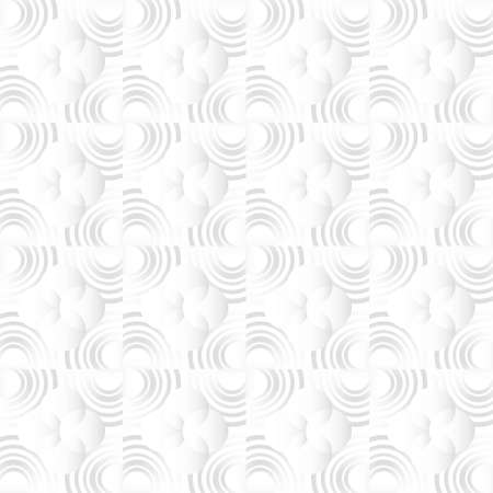 Circle Spin mix round Texture Seamless Pattern. Vector Abstract Elegant white and grey Background. Art style can be used in cover design, book design, poster, cd cover, flyer, website. Vector.