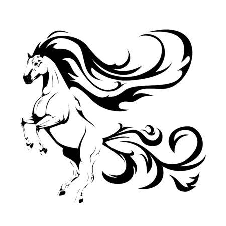hooves: horse