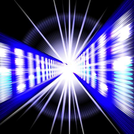 electronic background: Electronic display equalizer on dark background