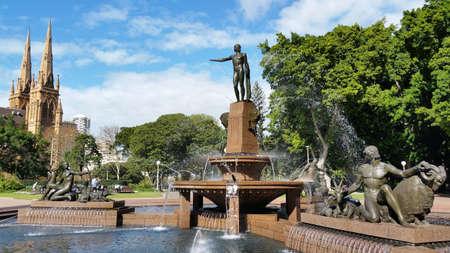 Hyde Park, Sydney, Australia Stok Fotoğraf