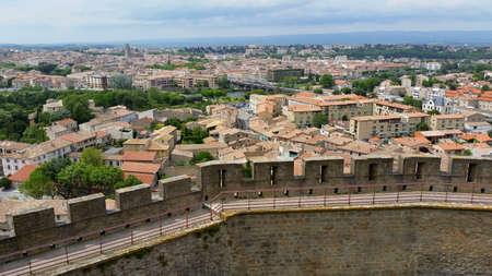 Carcassonne, Aude, France Stok Fotoğraf