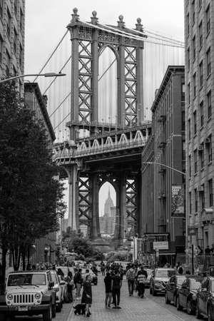Manhattan Bridge from Brooklyn, United States
