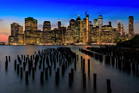 Manhattan from Brooklyn, New York City, United States