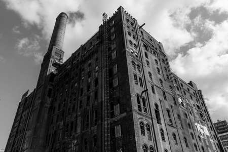 Abandoned factory in Brooklyn, New York City, United States