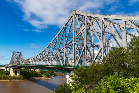 Brisbane Story bridge, Queensland, Australia Stok Fotoğraf