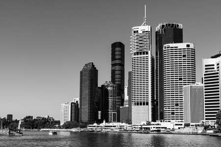 Brisbane City in Queensland, Australia Stok Fotoğraf