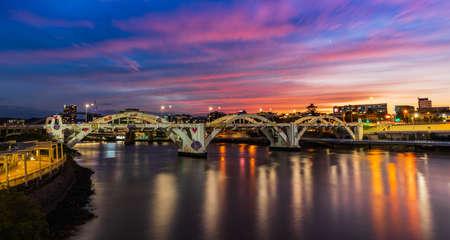 William Jolly Bridge in Brisbane, Queensland, Australia