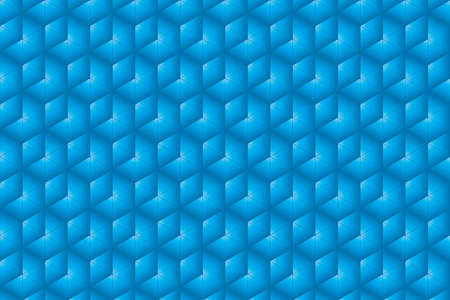 trigonal: Cyan and blue texture composed of symmetrical triangles